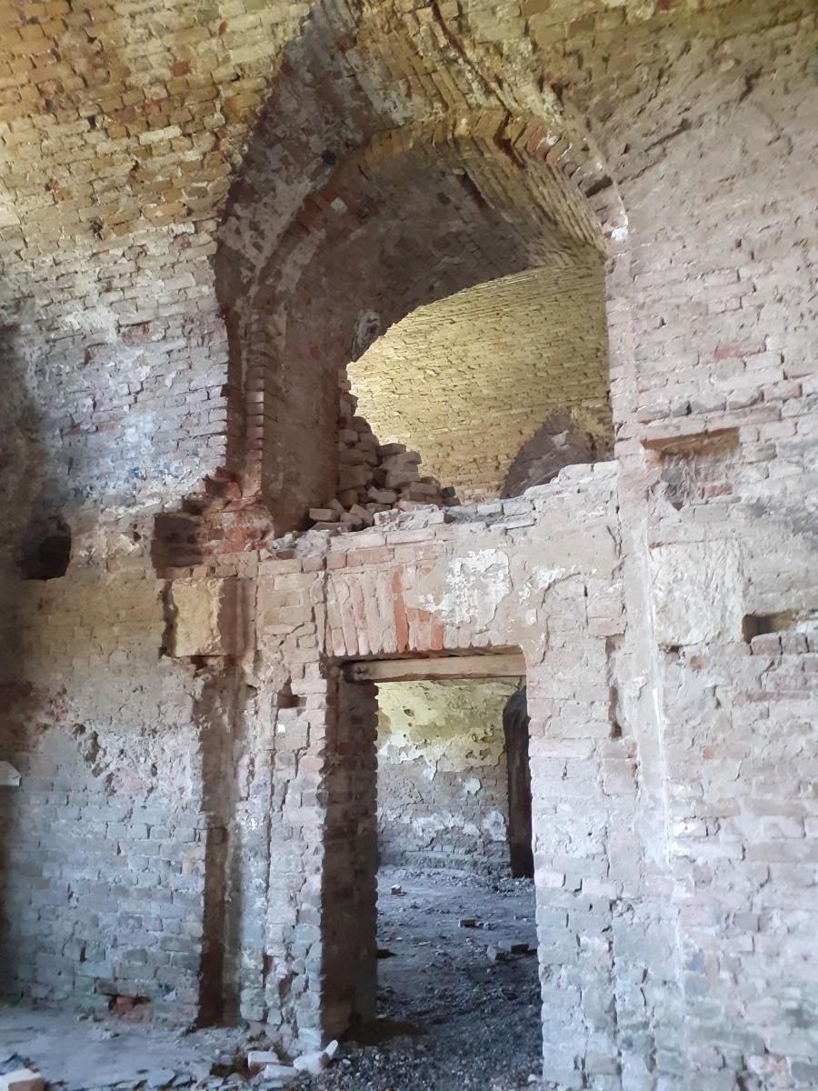 ruin fortress