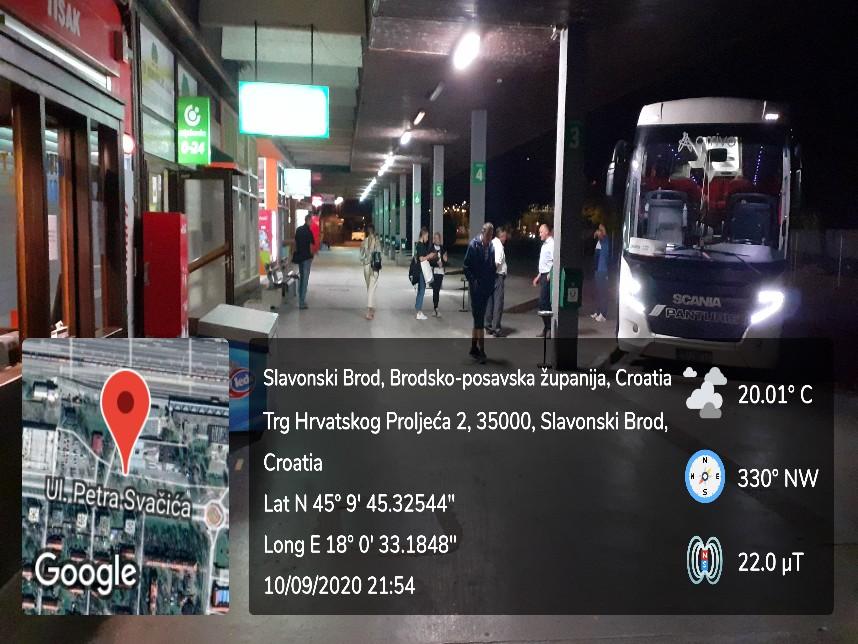 bus station Slavonski Brod