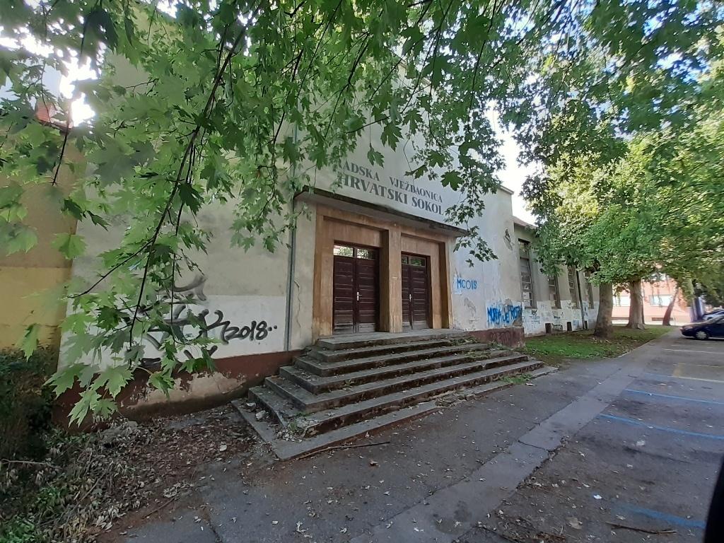 ex sports hall Croatian hawk Ghostbusters
