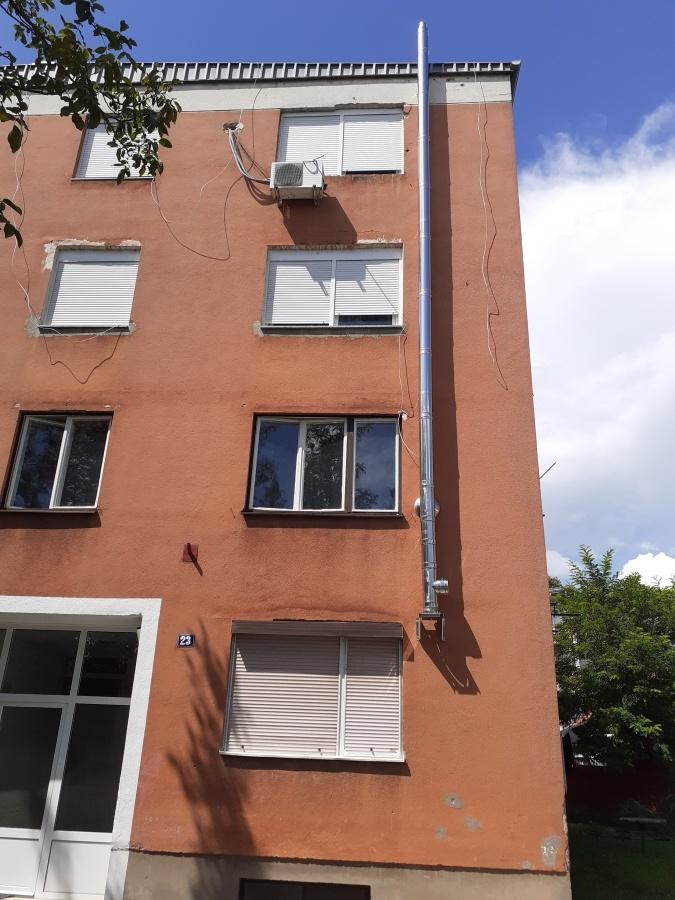 facade installation pipe equipment residential buildings pompidou center 5