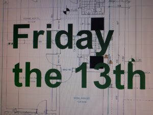 Jesus and God, Friday the 13th is coming... Catastrophe
