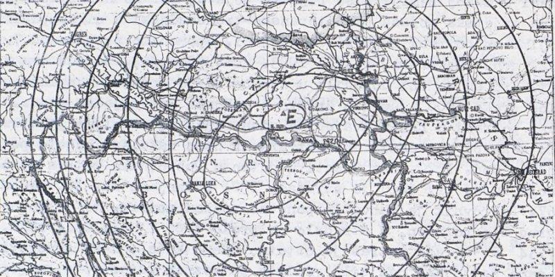 earthquake map 1964.