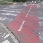 How to prevent rapid worn-out pedestrian crossings on roads